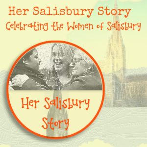 Her Salisbury Story logo and background