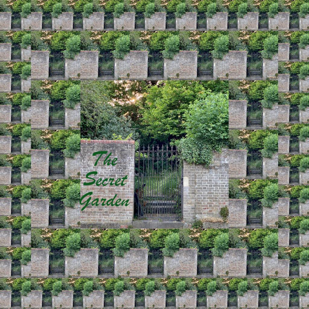 Entrance to the secret Garden as a maze