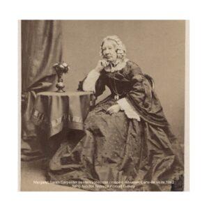 Margaret Sarah Carpenter seated by Henry Webster 1862 National Portrait Gallery