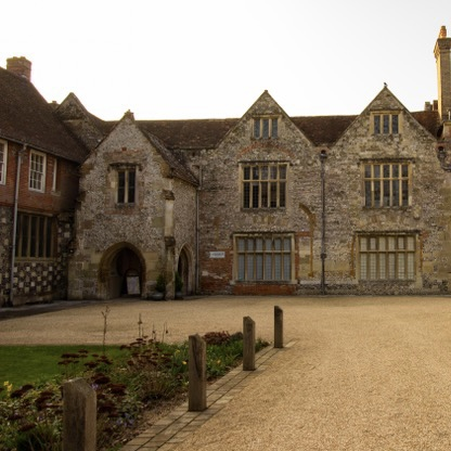 Picture of the Kings House in Salisbury Cathedral close