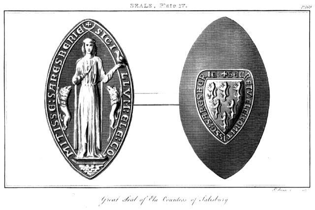 photo of carved seal