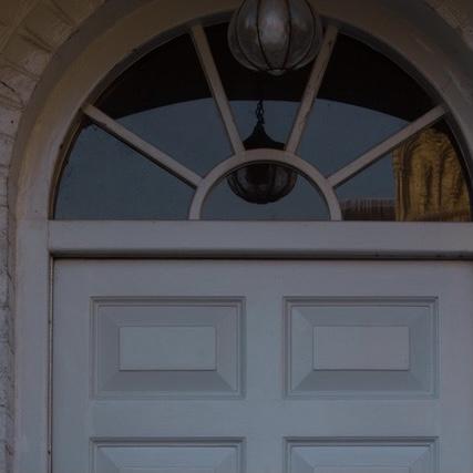 Door of the Principal's House