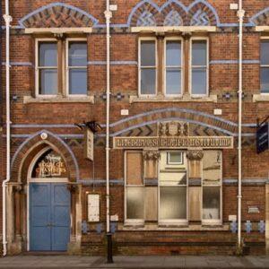 The institute built by Frances Haledecorative victorian building with feature brickwork