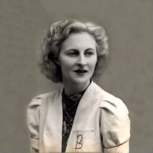 Bette Blackwell at 20